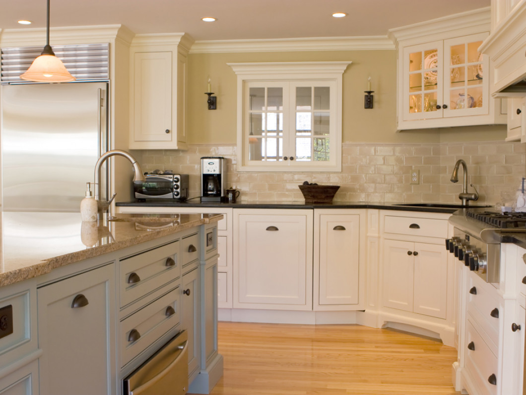 Cook, Work and Entertain in a Custom Kitchen